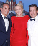 This Is What Happens When Sharon Stone Officiates a Chic N.Y.C. Wedding