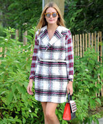 Olivia Palermo Proves Plaid Is the Perfect Fall Uniform