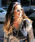 Katy Perry Is Seriously Channeling Boho Vibes in This Tie-Dye Dress