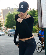 Kendall Jenner Goes Back to Black for an N.Y.C. Outing