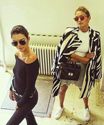 Kendall Jenner's Best Behind-the-Scenes Instagrams From Fashion Month
