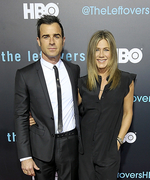 Jennifer Aniston and Justin Theroux Step Out for Their First Red Carpet Since Getting Married
