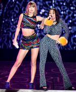 Charli XCX  Reveals 2 Pieces from Her Boohoo Collection During Duet with Taylor Swift