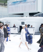 Chanel's Airport-Themed Runway Show at #PFW Is a Fantastic Flight of Fancy