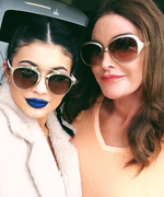 Kylie Jenner Wears Blue Lipstick for World Bullying Prevention Day