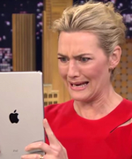 Watch Kate Winslet Take Funny-Faced Selfies with Jimmy Fallon