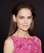 See Katie Holmes Ride the Subway—in a Ball Gown