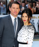 Channing Tatum Captures Jenna Dewan Tatum Looking Flawless in Topless, Makeup-Free Photos
