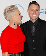 Pink and Her Husband Carey Hart Have a Red-Hot Date Night