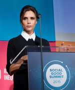Victoria Beckham Returns to Her Do-Gooder Ways with a Trip to Ethiopia