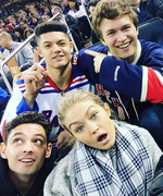 Ansel Elgort, Gigi Hadid, and Joe Jonas Attend a Rangers Game, Plus More Weekend Instagrams