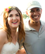 See President Obama Crash This San Diego Wedding