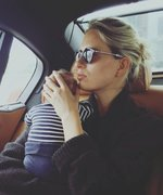 "Karolina Kurkova's ""Little Assistant"" Is Back to Give His Working Mom a Hand"