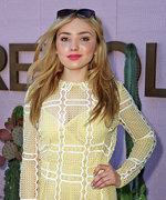My Coachella: Peyton List's Festival Beauty Philosophy? Distract from the Sweat!
