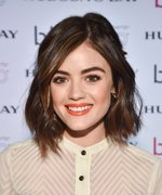 Lucy Hale's Secret Work Project Includes the Sexiest Eye Makeup