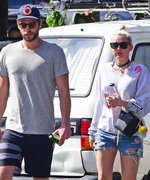 Liam Hemsworth and Miley Cyrus Have a Lunch Date with His Parents in Australia
