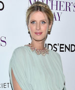 Pregnant Nicky Hilton Channels Her Inner Greek Goddess on the Red Carpet