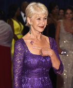 Helen Mirren Proves She Can't Be Any Cooler Rocking a Purple Gown and a Prince Tribute Tattoo