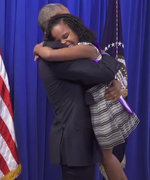 You Have to See Little Miss Flint's Heartwarming Reaction to Meeting President Obama