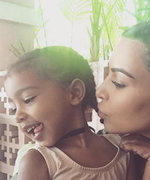 North West Is a Total Mini Me in Her Mom's Snapchats