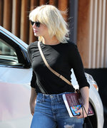 Emma Stone Goes Platinum Blonde