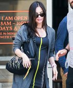 Megan Fox Flaunts Her Growing Baby Bump in a Sporty Ensemble