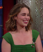 Watch Emilia Clarke Show Off Her Eyebrow Game and Do a Southern Accent