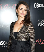 Penélope Cruz's Feathery Michael Kors Dress Is the Ultimate Cocktail Party Look