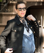 Liv Tyler's Latest Maternity Style Look Includes Overalls