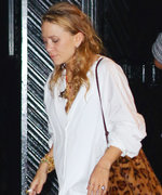 Mary-Kate Olsen Skips Flats, Hits the Town in N.Y.C. Wearing Stilettos