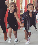 North West and Penelope Disick Take Their Friendship to New Heights with Twinning Pigtail Buns