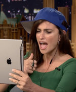 Watch the Gorgeous Penélope Cruz Dubsmash About Bacon in a Baseball Hat