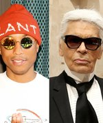 Pharrell Williams Goes to Chanel, Learns How to Be Karl Lagerfeld