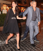 Amal Clooney Stuns in Flirty Little Black Dress for Date Night