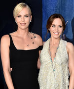 Charlize Theron Throws Emily Blunt a Sweet Baby Shower
