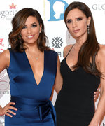 See Victoria Beckham Help Eva Longoria Get Dressed on Her Wedding Day