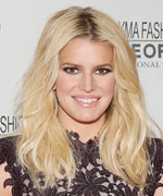 Jessica Simpson Flaunts Her Toned Abs in a Patriotic Bikini