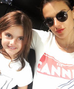 Alessandra Ambrosio Takes Her Adorable Daughter Anja on a Girls' Trip to Paris