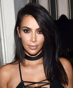 Kim Kardashian Highlights Her Curves in Head-to-Toe Leather