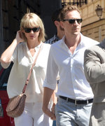 Taylor Swift and Tom Hiddleston Step Out in Coordinating Looks