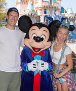 Julianne Hough Wears a Crop Top During Trip to Disneyland with Her Fiancé