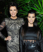 Kris and Kourtney Owned #FlashbackFriday with Matching Haircuts