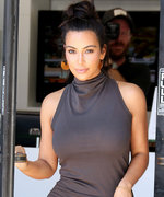 Kim Kardashian West Shows Off Her Incredible Weight Loss in a Curve-Hugging Turtleneck Dress