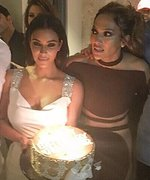 Kim Kardashian West Celebrates J.Lo's Birthday in Vegas with Epic Party