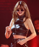 Selena Gomez Shows Off Her Toned Abs in a Patriotic Crop Top