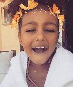 Watch North West Blow Kisses in Her Sweetest Snapchat Video Yet