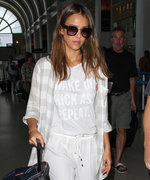 You Need to See Jessica Alba's Casual-Chic Airport Style