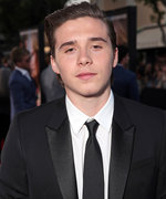 Brooklyn Beckham Flexes His Muscles in Latest Instagram Posts