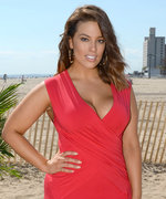 Ashley Graham Looks Red Hot in a Curve-Hugging Sheath Dress in N.Y.C.