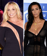 Britney Spears and Kim Kardashian West's Selfie Video Is Almost Too Glam to Handle